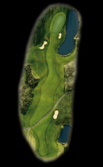 Codrington Hole 1 Aerial View