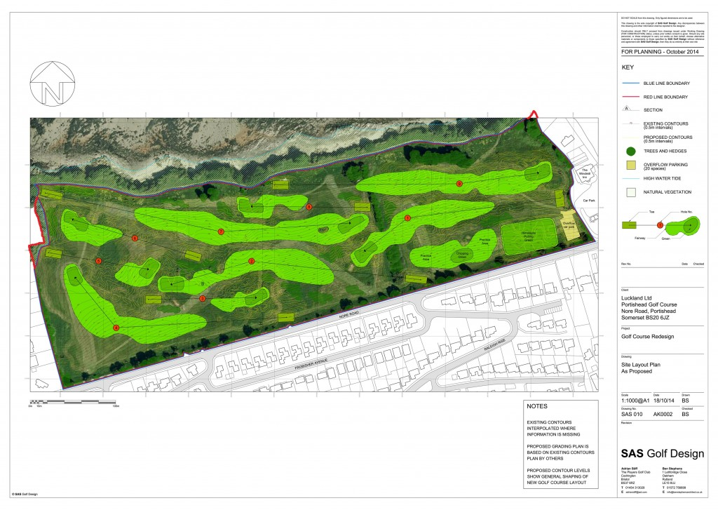 C:UsersBenDesktopSAS Golf Design�10  Portishead Golf Club B