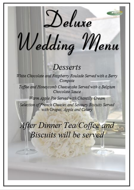 Deluxe Wedding Breakfast 2 (3)